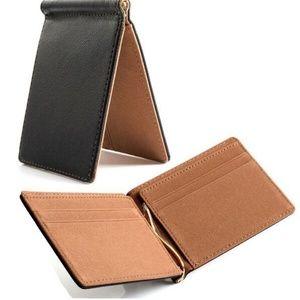 Fashion Minimalist Slim Wallet Money Clip